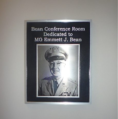 Bean Conference Room Dedication Plaque